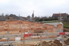 Groupe scolaire Romange : Construction briques