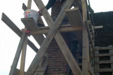 Immeuble Coulon : Travaux sur cheminée