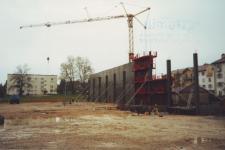 Poteaux préfabriqués et murs préfabriqués de 11 m de haut