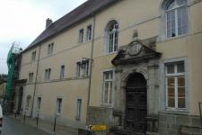 Lycée Friant : vue d'ensemble côté rue