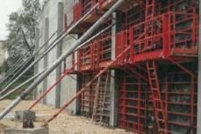 Usine BEL à Dole – Mur coupe-feu pour bâtiment de stockage